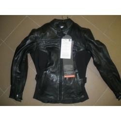 dámská kožená bunda rst dámská moto bunda