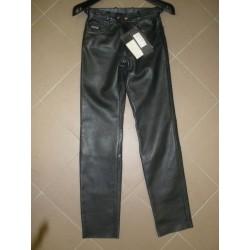 Kalhoty kožené Akito
