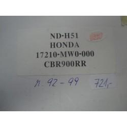 vzduchový filtr CBR 900RR